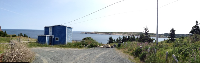 Little blue house in Flatrock, NL